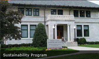 SUSTAINABILITY PROGRAM, National Trust for Historic Preservation Washington, DC
