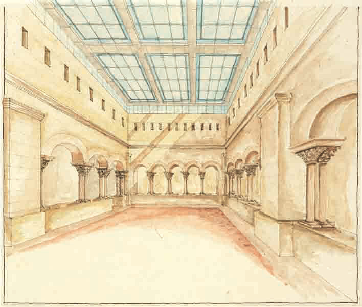 cloister-watercolor