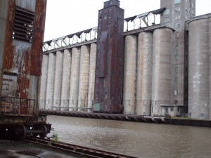 Grain Elevators along the Buffalo River