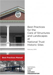 Best Practices Manual for National Trust Historic Sites