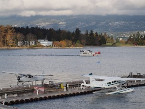 Float plane at the Vancouver Waterfront