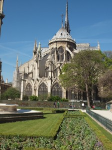 The one place I took the most photos of in Paris was Notre Dame.