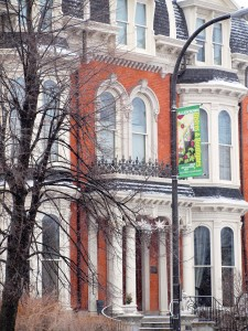 The Mansion on Delaware, Buffalo's premier boutique hotel, revived the long-vacant Sternberg-Trubee mansion.