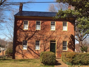 This 1839 historic house in Old Salem is currently undergoing a restoration.  We all love red brick Federal buildings.  But what if they were the only buildings we could agree on keeping? What story would that tell about us?
