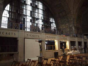 Buffalo's Central Terminal has found a new life thanks to its volunteers.