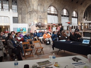 Volunteers have worked for a decade to clean up the Central Terminal so it can be used for events and conferences.