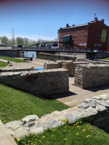 Canalside is Buffalo's newest cultural heritage destination.  The waterfront, remains of the Erie Canal, and the Naval Park all provide a vibrant new destination.