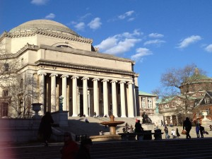 Low Library at Columbia University represents all I love about studying for my Master's degree at Columbia.