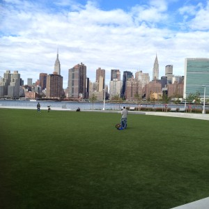 A gorgeous park and a gorgeous view.