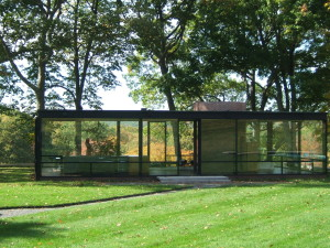 The Philip Johnson Glass House in New Canaan, CT, designed in 1949 by Philip Johnson is one of the world's modern icons. The replacement of the original plate glass has long been a topic of conversation.