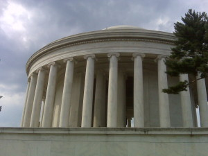 Easy access to the National Mall and monuments like the Jefferson Memorial are one of the joys of Washington, DC-living.