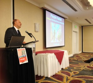 Kaid Benfield, the opening keynote, discusses People Habitats.