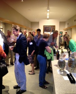 A Finger Lakes wine testing was the perfect way to unwind after a day filled with talks.