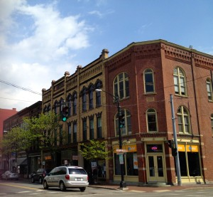 Streets like Market Street in Corning represent the best ideas of smart growth promoted by LEED-ND.