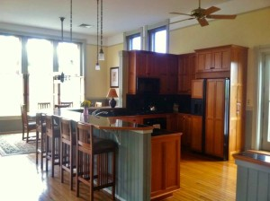 One of the many beautiful apartments that were open for the Upper Floors Tour.  Photo Courtesy Anthony James.