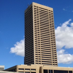 HSBC Center, now One Seneca Tower, on Main Street in downtown Buffalo was recently submitted to the DOCOMOMO US historic Registry.