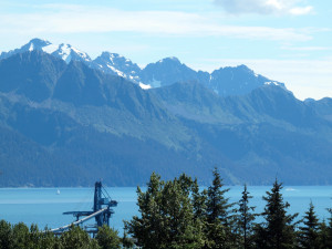 The glorious view of Resurrection Bay from the 2nd floor of the Jesse Lee Home.