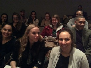 Students and faculty from the FIT Sustainable Interior Environments program attended the Van Jones lecture at the New School.