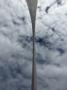The Gateway Arch, looking up or down?