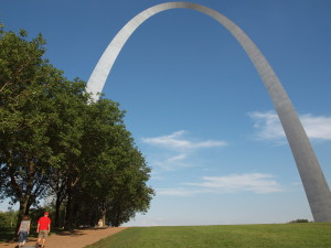 The NCPTT MidCentury Modern Structures Symposium was held in St. Louis across the street from Eero Saarin's glorious Gateway Arch.