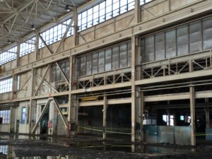 The former Niagara Machine and Tool Company factory complex at 683 Northland Avenue on the East Side of Buffalo is set to be adapted into a net zero mixed use property.