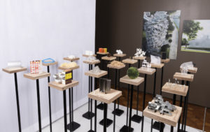 """Architecture is Everywhere, a beautiful and unusual """"scale models"""" exhibit at the Cooper-Hewitt suggests ways models can be used to discuss architecture at the Architecture Center."""