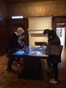 The Cooper-Hewitt, the Smithsonian's Design Museum, in NYC, was recently renovated and offers many interactive ideas for the Buffalo Architecture Center's visitor experience.