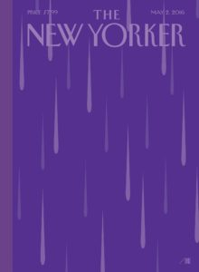 Next week's New Yorker cover by Bob Staake.