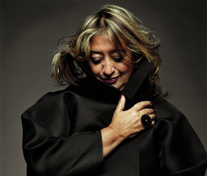 Zaha Hadid, copyright Steve Double from ArchDaily.